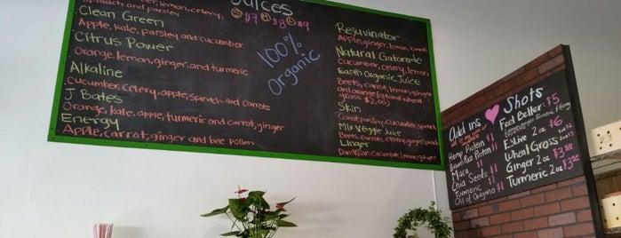 Silverlake Juice Bar is one of LA East Side Wellness.