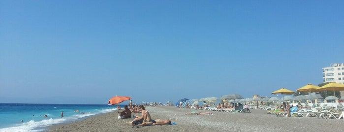 Rhodes Beach is one of Rhodes.
