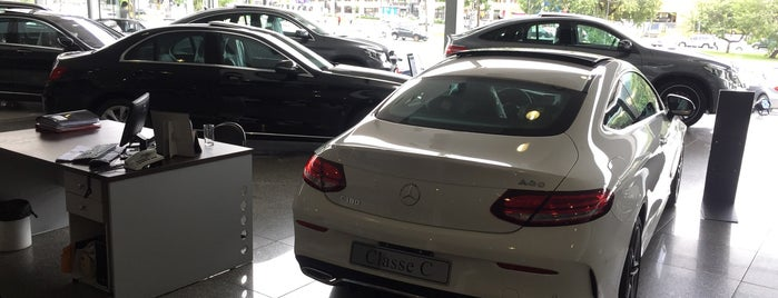 Mercedes-Benz AGO is one of Dealers.