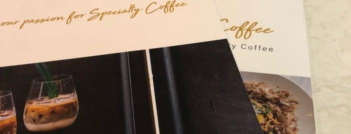 The Coffee Academics is one of Orte, die Ricky gefallen.