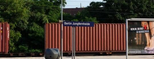 Bahnhof Berlin Jungfernheide is one of Joud's Liked Places.