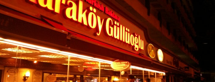 Karaköy Güllüoğlu is one of done.