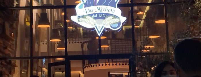 L'antica Pizzeria Da Michele is one of الخبر.
