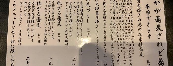 手挽きそば 一心 is one of Locais curtidos por Bosabosahead.