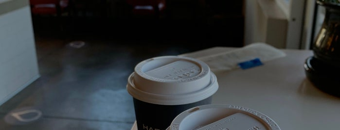 Harbinger Coffee is one of Orte, die Hiroshi ♛ gefallen.