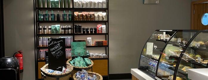 Starbucks is one of Madinah.