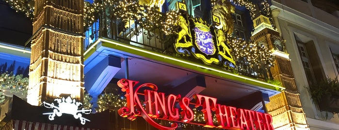 King`s Theater is one of Bars.