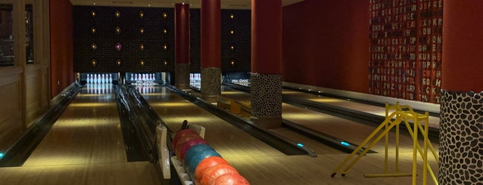 The Croc Bowling Alley is one of Emilie : понравившиеся места.