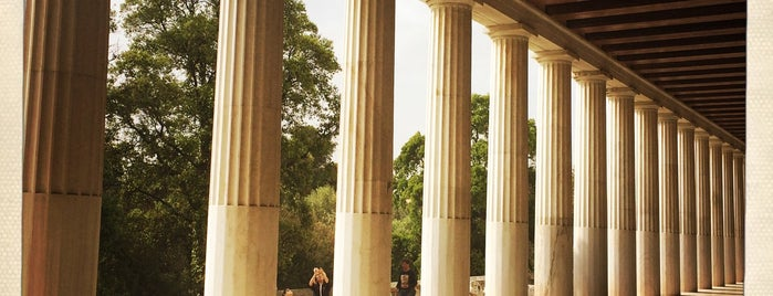 Museum of the Ancient Agora is one of Athens.