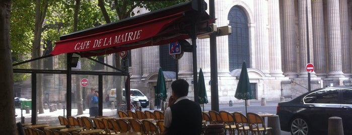 Café de la Mairie is one of Paris // For Foreign Friends.