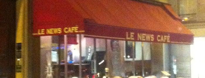Le News Café is one of Manger à Paris.