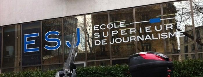 ESJ - École Supérieure de Journalisme is one of Tempat yang Disukai Alex.