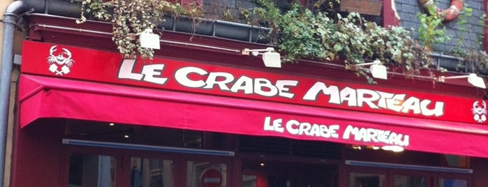 Le Crabe Marteau is one of Restaurants.