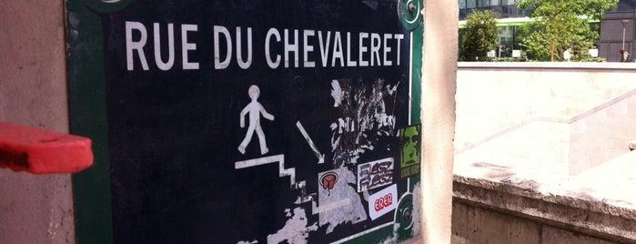 Rue du Chevaleret is one of Paris.