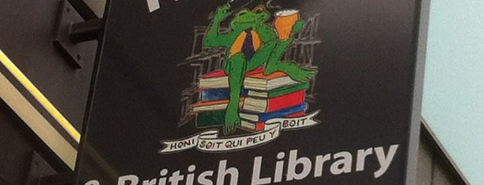 The Frog & British Library is one of j'ai été.