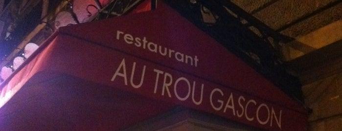 Au Trou Gascon is one of Marc-Edouard'ın Beğendiği Mekanlar.