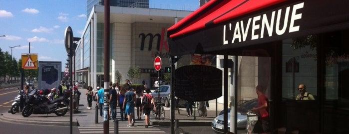 L'Avenue is one of Paris, je t'aime.