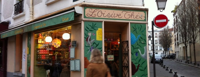 L'Oisivethé is one of Brunch in paris.