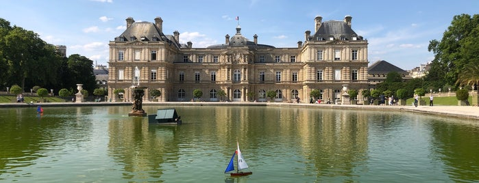 Grand Bassin du Jardin du Luxembourg is one of Vanessaさんのお気に入りスポット.
