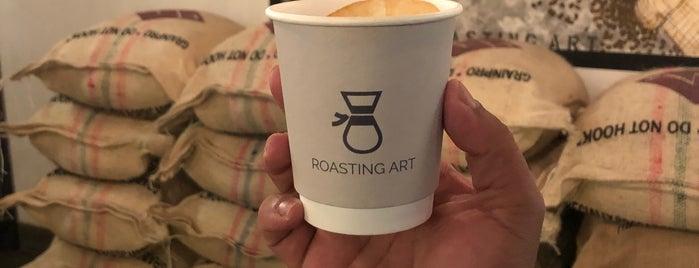 Roasting Art is one of Queen 님이 저장한 장소.