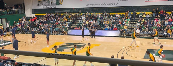 USF - War Memorial Gymnasium is one of Basketball Arenas.
