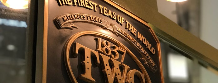 TWG Tea Salon & Boutique is one of shopping centers.