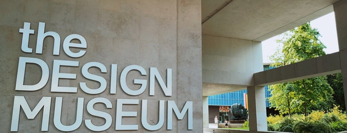 The Design Museum is one of London.