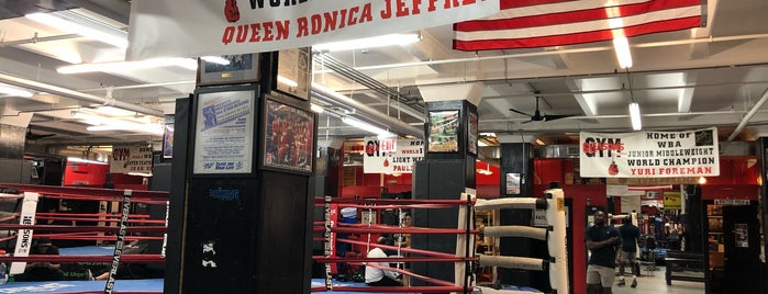 Gleason's Gym is one of NY Boxing.