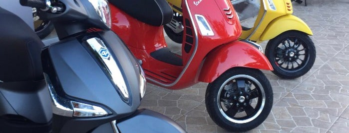 Oğuz Motor - Ducati & Triumph & Vespa Antalya is one of Canerさんのお気に入りスポット.