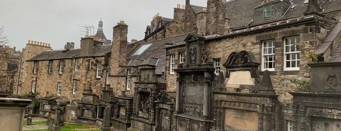 Greyfriars Kirk is one of Edinburgh to do.