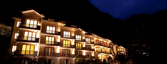 Sumaq Machu Picchu Hotel is one of 2015-11 Machu Piccu, Puno. Tequille.
