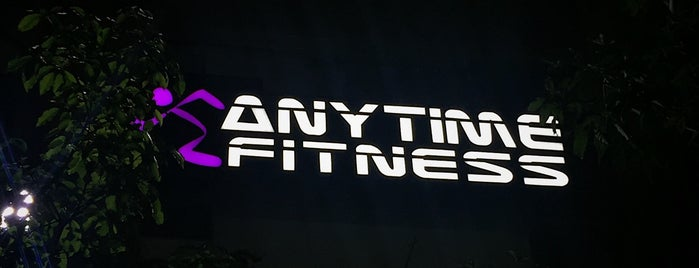 Anytime Fitness Oasis Square is one of MAC : понравившиеся места.