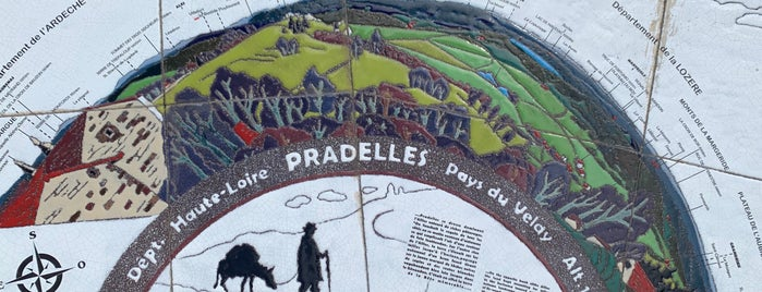 Pradelles is one of Les plus beaux villages de France.