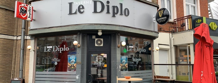 Le Diplo is one of Bxl.