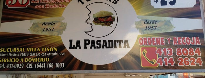 Tortas La Pasadita is one of Lieux qui ont plu à Fernanda.