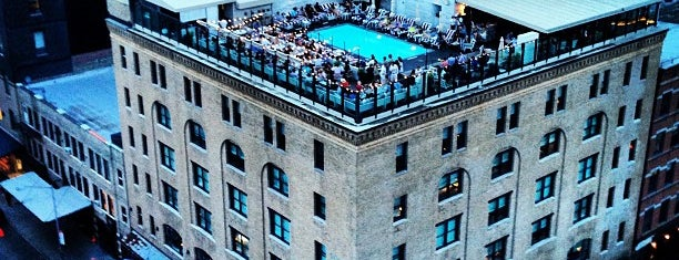 Soho House is one of Lower Manhattan.