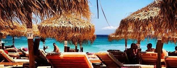 Elia Beach is one of Mykonos.