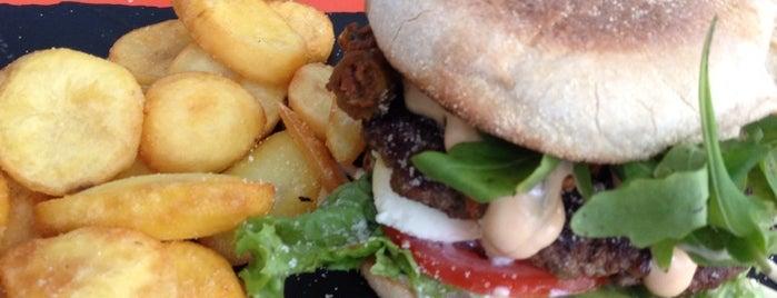 Dulf's Burger is one of essen.