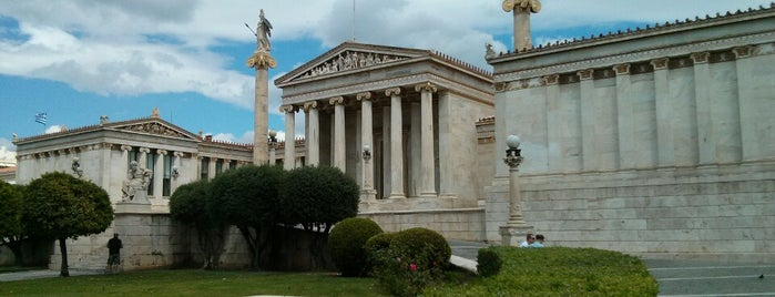Academy of Athens is one of Athens: Main Sights.