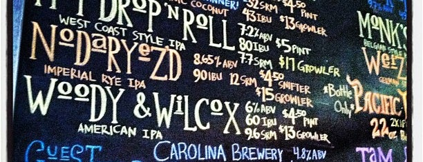 NoDa Brewing Company is one of NC Beer.