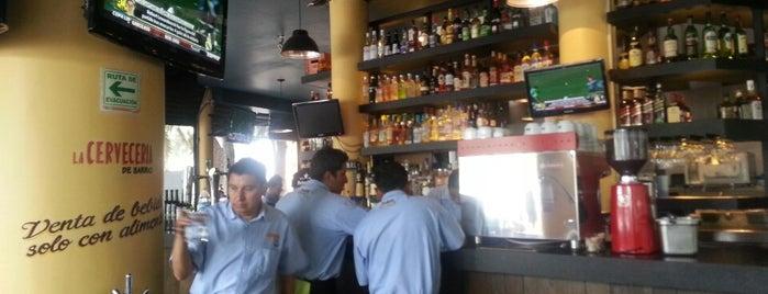La Cervecería de Barrio is one of Best of La Condesa.