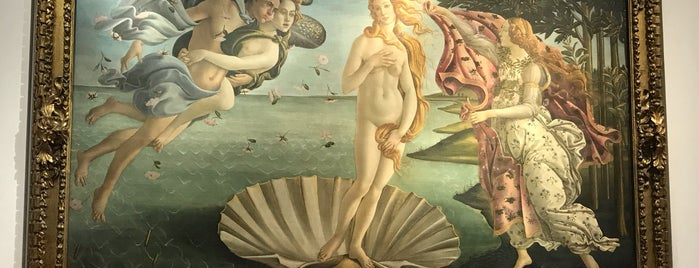 Birth of Venus - Botticelli is one of Florence 2019.