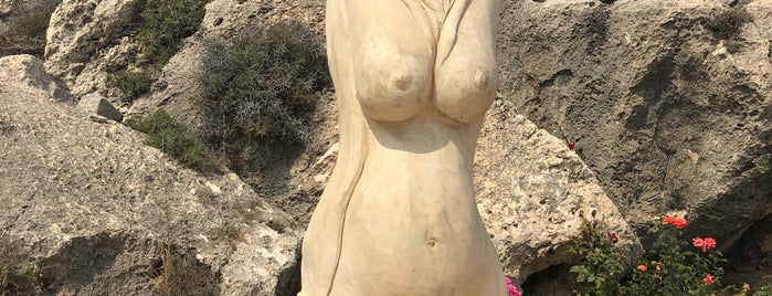 Ayia Napa International Sculpture Park is one of Locais salvos de Dmitry.