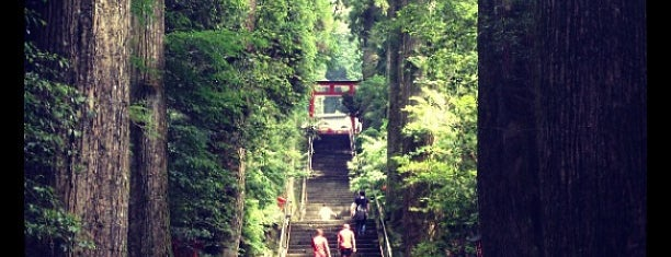 Hakone-jinja Shrine is one of Joshpan.