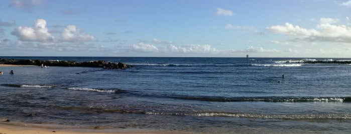 Poipu Beach is one of Kauai To Do List.