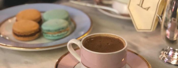 Ladurée is one of My favourites for Cafes & Restaurants.