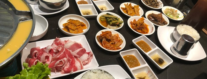 Ogane Korean Restaurant is one of Mhel's Liked Places.