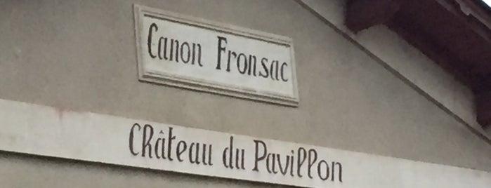 Chateau du Pavillon-Fronsac is one of สถานที่ที่บันทึกไว้ของ Jean-Marc.