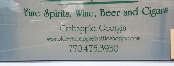 Olde Crabapple Bottle Shoppe is one of Lieux qui ont plu à Elena.