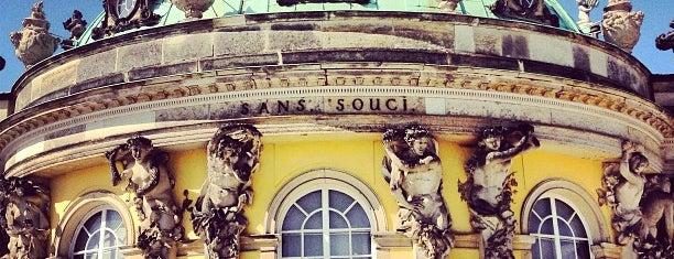 Schloss Sanssouci is one of Berlin.